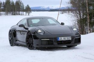 Gjenerata e ardhshme e Porsche 911 Coupe dhe Kabriolet spiunohet gjatë testimit [foto]
