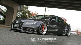 Japonezët modifikojnë Audi A7 Sportback [foto]
