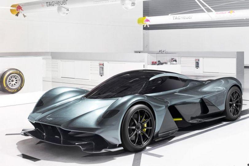 Vetura mahnitëse e Aston Martin-Red Bull AM-RB 001 [foto/video]