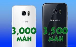 Galaxy S8 me bateri më të vogël për inç në krahasim me paraardhësin