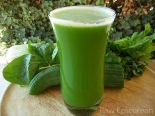 Lëngjet e gjelbra janë të pasura me klorofil