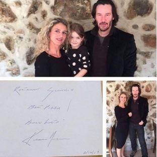 Ylli i Matrix-it, Keanu Reeves, viziton restorantin e shqiptares