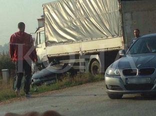Aksident trafiku me gjashtë të lënduar në Kçiq të Madh