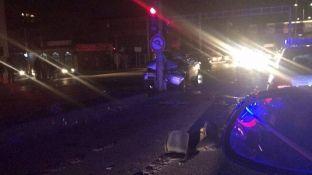Mosrespektimi i semaforit shkaktar i aksidentit në Fushë Kosovë [foto]