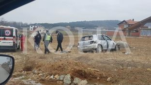 Tre të lënduar në aksident trafiku në Lebanë [foto]