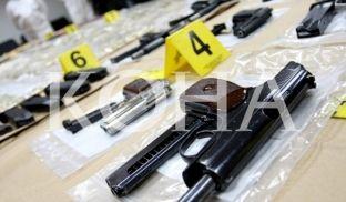 Në Deçan konfiskohen armë dhe municion