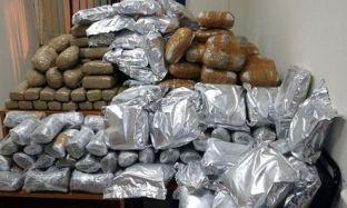 Në Greqi kapen 370 kg kanabis të organizatës shqiptare