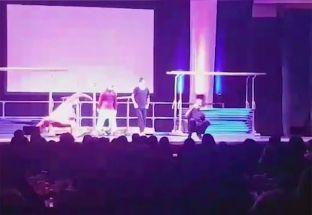 Kosovarët pjesë e një show vallëzimi në Zvicër [video]