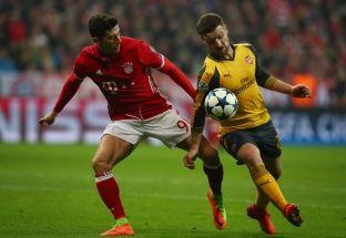 Dy gola të shpejtë të Bayernit ndaj Arsenalit [video]
