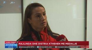 Kelmendi e Krasniqi kthehen në Kosovë, synimi kryesor Botërori [video]