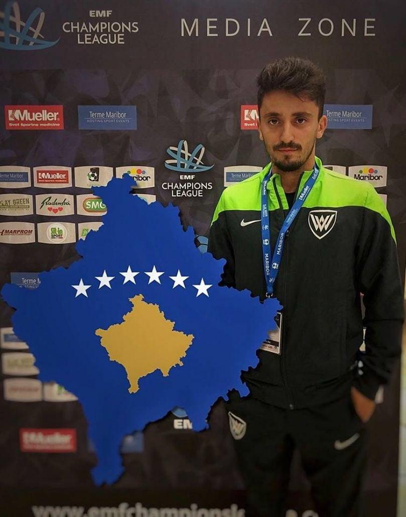 Arlind Krivaqa zyrtarisht pjesë e Kosovës në futsall