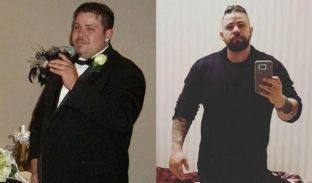 Gruaja e braktisi për shkak të peshës, ai hakmerret duke shkrirë 45 kg