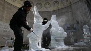 Festivali i akullit në New York paralajmëron Ditën e të dashuruarve