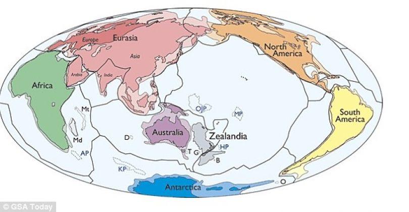 Shkencëtarët zbulojnë një kontinent të ri