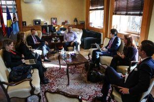"""Ahmeti u flet përfaqësuesve të """"Atlantic Council"""" për qeverisje të mirë në Prishtinë"""