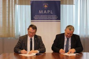 MAPL mbështet rregullimin e ndriçimit publik në Podujevë